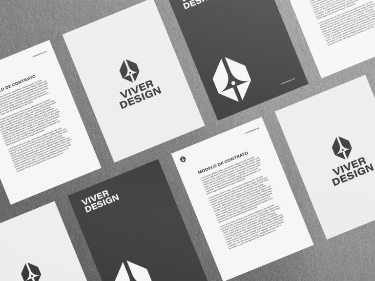 material didático Viver Design